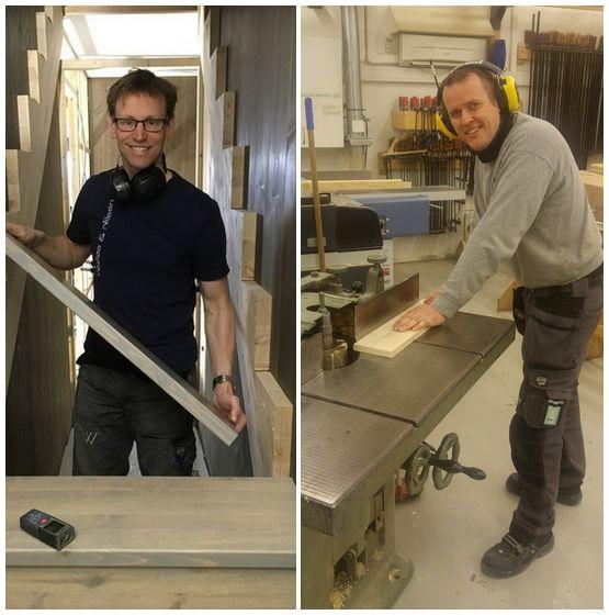 Anders K. Walløe og Sindre Tellevik