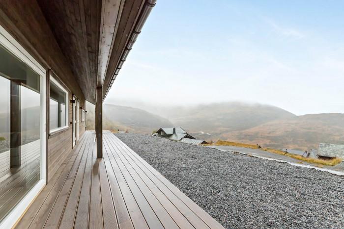 Eikedalen panorama. Fasade og materiale